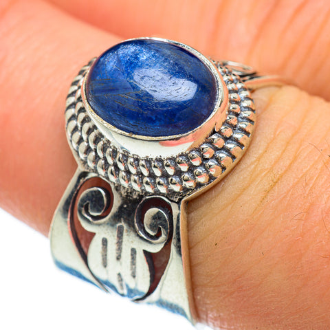 Kyanite Rings handcrafted by Ana Silver Co - RING48145