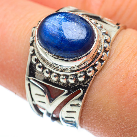 Kyanite Rings handcrafted by Ana Silver Co - RING48326