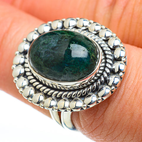 Ocean Jasper Rings handcrafted by Ana Silver Co - RING48542