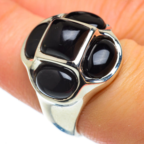 Black Onyx Rings handcrafted by Ana Silver Co - RING48954
