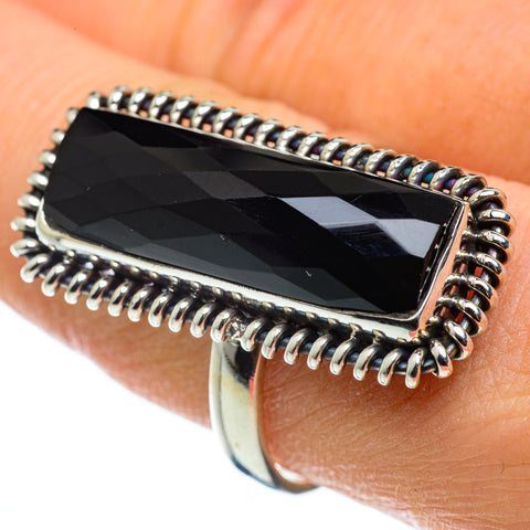 Black Onyx Rings handcrafted by Ana Silver Co - RING49049