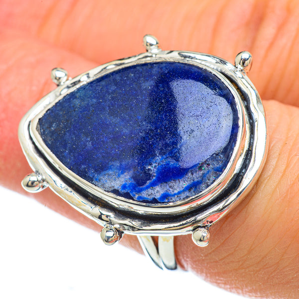 Sodalite Rings handcrafted by Ana Silver Co - RING49193