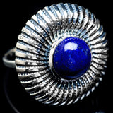 Lapis Lazuli Rings handcrafted by Ana Silver Co - RING4931