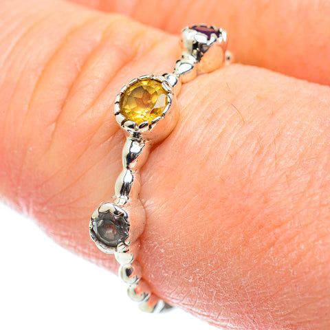 Citrine Rings handcrafted by Ana Silver Co - RING51950