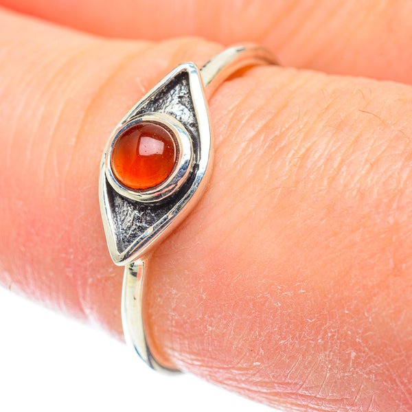 Details about  /Carnelian Ring Rose Gold Plated Ring 925 Sterling Silver Ring All Size AK-635