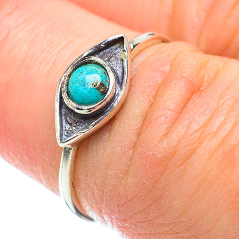 Amazonite Rings handcrafted by Ana Silver Co - RING52078