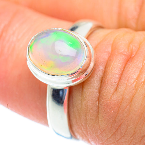 Natural Beautiful Ethiopian fire Opal Ring Opal jewellery Opal fine jewelry  Ethiopian opal with stunning set in sterling silver S6292