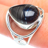Psilomelane Rings handcrafted by Ana Silver Co - RING52957