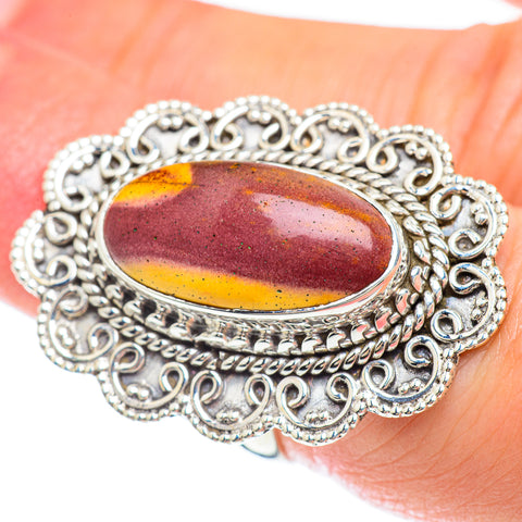 Mookaite Rings handcrafted by Ana Silver Co - RING53292