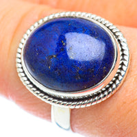 Lapis Lazuli Rings handcrafted by Ana Silver Co - RING53468