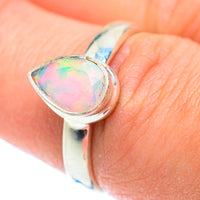 Ethiopian Opal Rings handcrafted by Ana Silver Co - RING53507