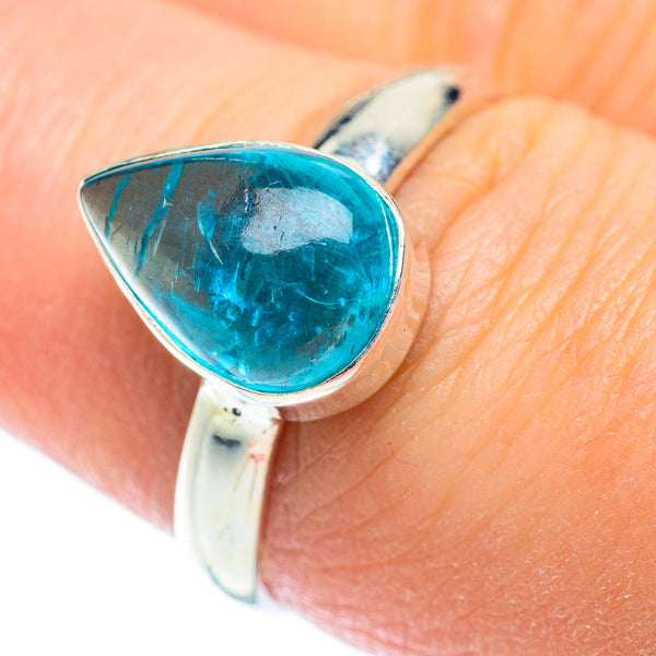 Apatite Rings handcrafted by Ana Silver Co - RING53513