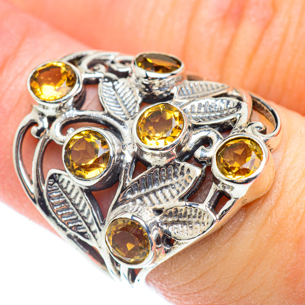 Citrine Rings handcrafted by Ana Silver Co - RING53801