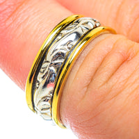 Meditation Spinner Rings handcrafted by Ana Silver Co - RING53911