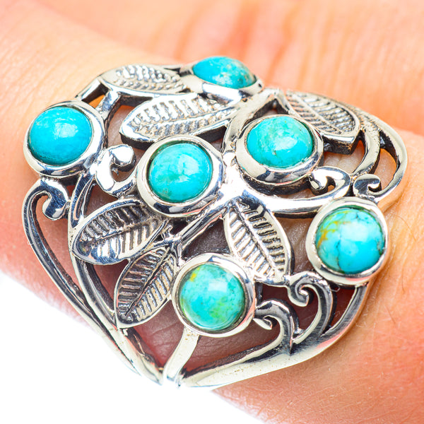 Arizona Turquoise Rings handcrafted by Ana Silver Co - RING54286