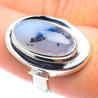 Dendritic Opal Rings handcrafted by Ana Silver Co - RING54615