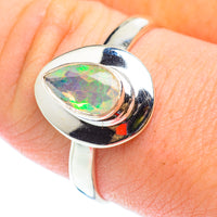Ethiopian Opal Rings handcrafted by Ana Silver Co - RING54619