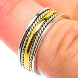 Meditation Spinner Rings handcrafted by Ana Silver Co - RING54768