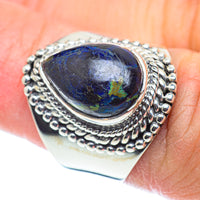 Azurite Rings handcrafted by Ana Silver Co - RING55595