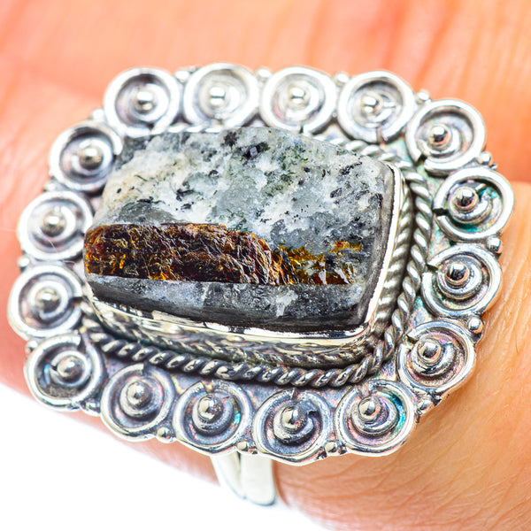 Astrophyllite Rings handcrafted by Ana Silver Co - RING55769