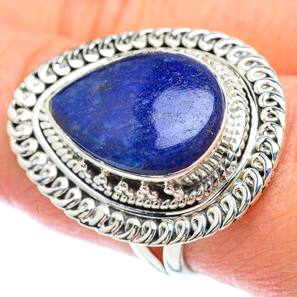 Sodalite Rings handcrafted by Ana Silver Co - RING56140