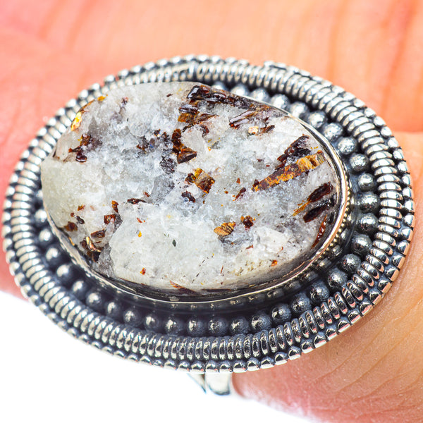 Astrophyllite Rings handcrafted by Ana Silver Co - RING57461