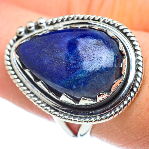 Sodalite Rings handcrafted by Ana Silver Co - RING57481