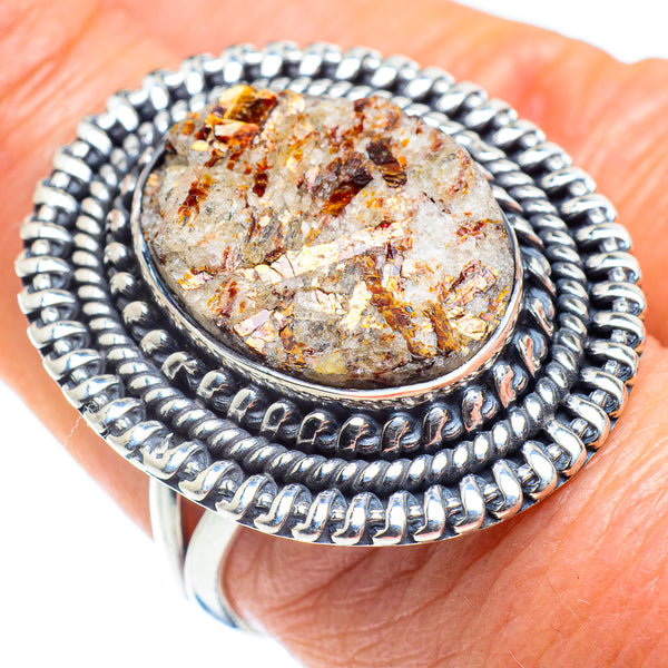 Astrophyllite Rings handcrafted by Ana Silver Co - RING57843
