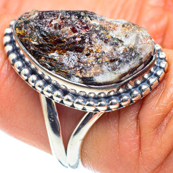 Astrophyllite Rings handcrafted by Ana Silver Co - RING58420