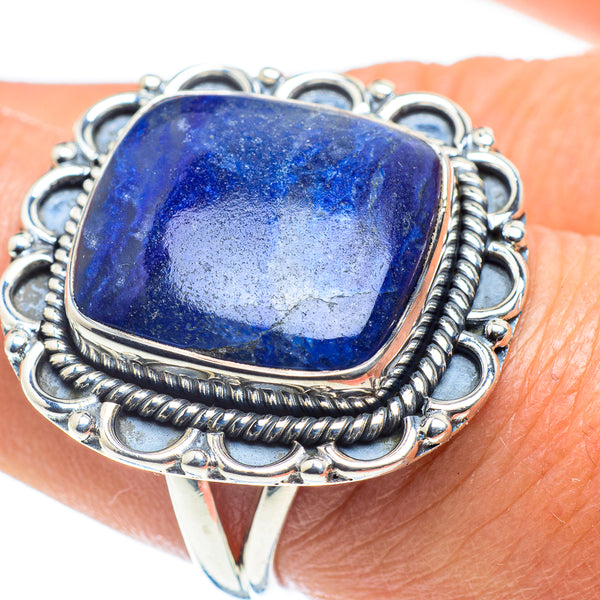 Sodalite Rings handcrafted by Ana Silver Co - RING58443