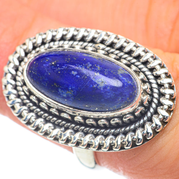 Sodalite Rings handcrafted by Ana Silver Co - RING60057