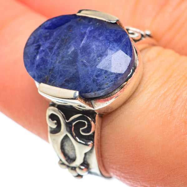 Sodalite Rings handcrafted by Ana Silver Co - RING60416