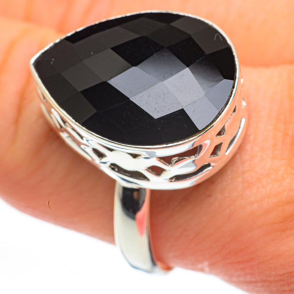 Black Onyx Rings handcrafted by Ana Silver Co - RING60646