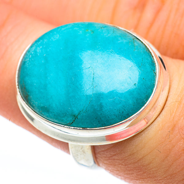 Arizona Turquoise Rings handcrafted by Ana Silver Co - RING61264