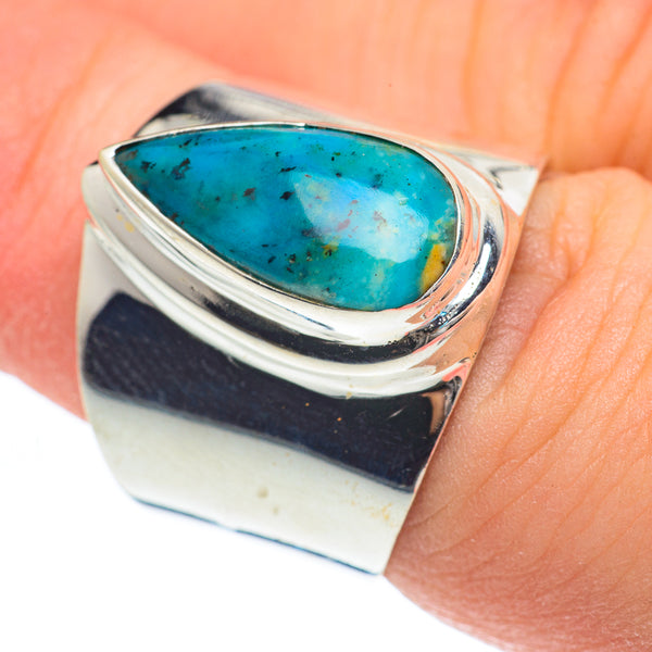 Tibetan Turquoise Rings handcrafted by Ana Silver Co - RING61796