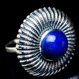 Lapis Lazuli Rings handcrafted by Ana Silver Co - RING6271