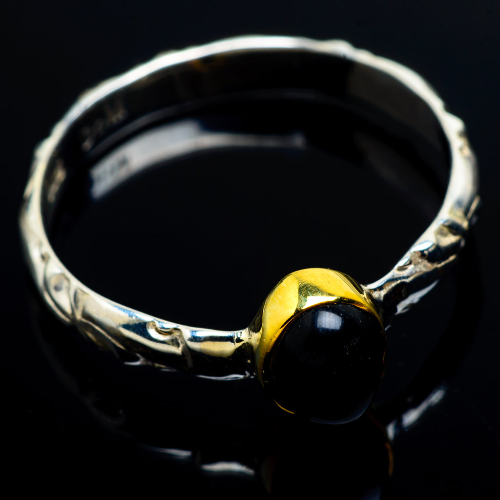 Black Onyx Rings handcrafted by Ana Silver Co - RING7120