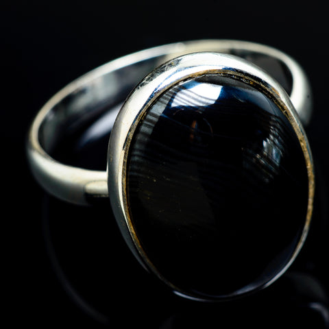 Psilomelane Rings handcrafted by Ana Silver Co - RING7452