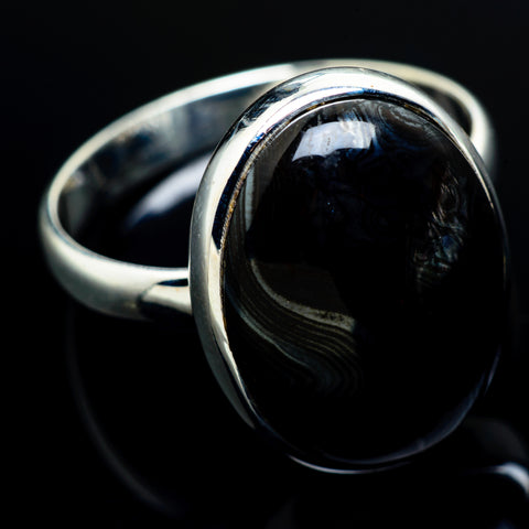 Psilomelane Rings handcrafted by Ana Silver Co - RING7554
