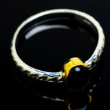 Black Onyx Rings handcrafted by Ana Silver Co - RING7948