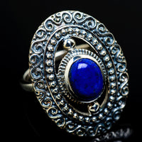 Lapis Lazuli Rings handcrafted by Ana Silver Co - RING8184