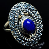 Lapis Lazuli Rings handcrafted by Ana Silver Co - RING8414