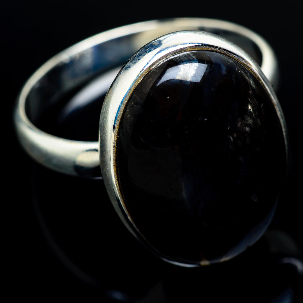 Psilomelane Rings handcrafted by Ana Silver Co - RING8647