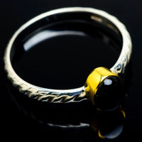 Black Onyx Rings handcrafted by Ana Silver Co - RING9158