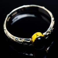 Black Onyx Rings handcrafted by Ana Silver Co - RING9488