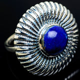 Lapis Lazuli Rings handcrafted by Ana Silver Co - RING9765