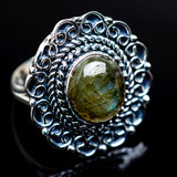 Labradorite Rings handcrafted by Ana Silver Co - RING979874