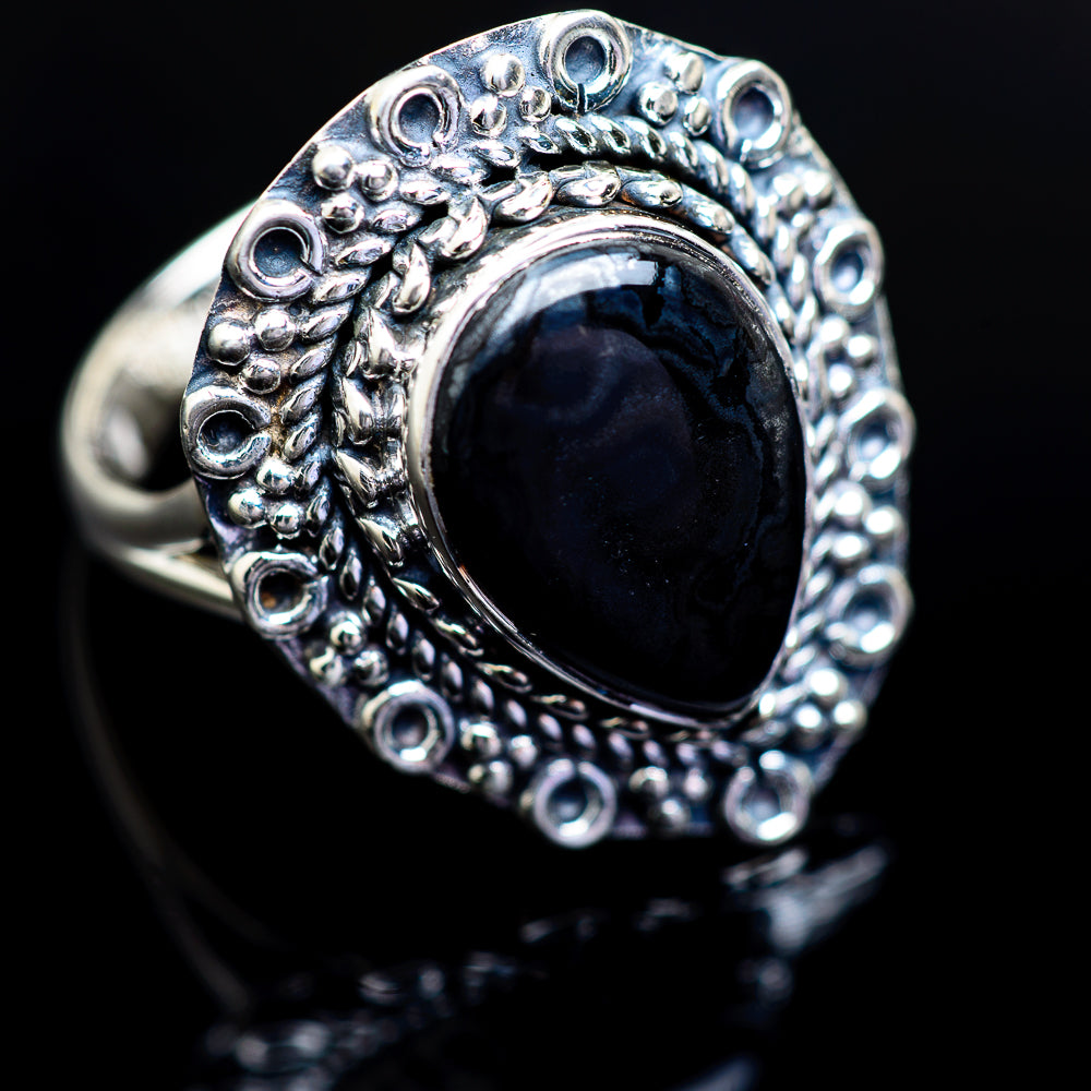 Psilomelane Ring Size 9.25 (925 Sterling Silver) RING980678 - from $37.99