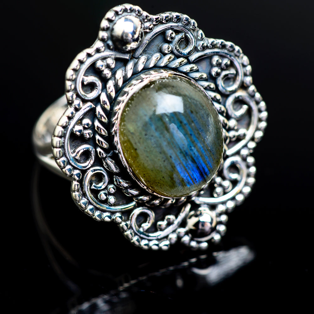 Labradorite Ring Size 7.25 (925 Sterling Silver) RING980723 - from $37.99