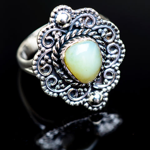 Ethiopian Opal Rings handcrafted by Ana Silver Co - RING980798